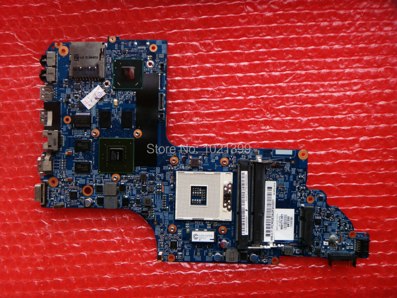 682171-001 Free Shipping Genuine Laptop motherboard for hp DV6 DV6-7000 INTEL Non-Integrated PM fully tested 60 days warranty(China (Mainland))