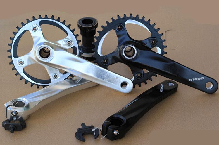 bicycle chain wheel 34T/36T bicycle sprocket montanha bike crank wheel mtb bike cranks alloy crankset 170MM