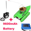 Newest Updated T10 Fishing Bait Boat RC lure fish boat 8hours 9600MAH RC Anti Grass Wind
