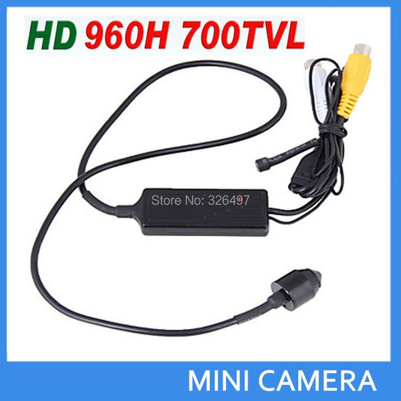 HD CCTV 3.7mm Lens Hidden Mini Camera Sony Effio-e CCD 700TVL CCTV Camera With MIC Video/Audio Surveillance mini camcorders(China (Mainland))