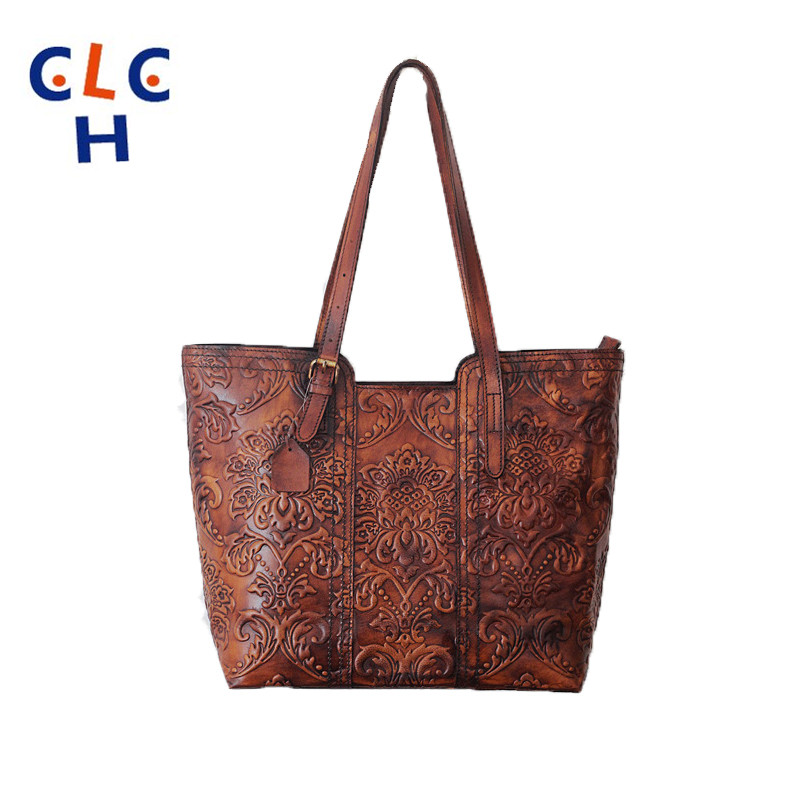 Satchels 2016 Sac Femme Cuir Veritable Womens Bags Luxury Large Leather Tote Bag Bolsos Hombro Mujer De Marca Ethnic Bag Bolso <br><br>Aliexpress