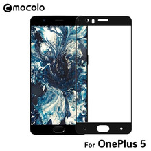 Original MOCOLO Oneplus 5 full cover Premium Tempered Glass Screen Protector One Plus 3T 1+5 1+ oneplus 3t glass - Mocolo Online Shop store
