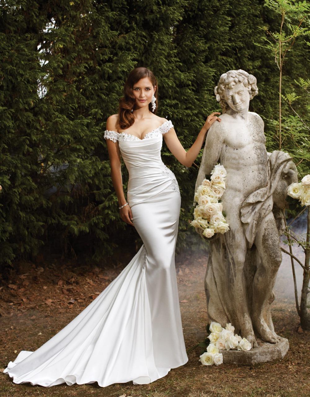 wedding dresses 2016 plus size organza bridal dress robe de mariee ...