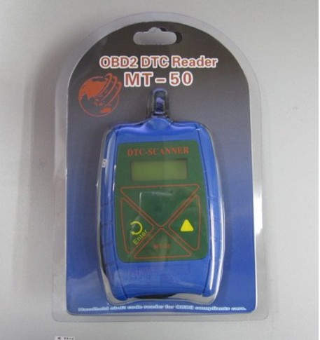 High-quality & best price for OBD2 DTC Reader MT-50 + Handheld OBD2 Code Reader(China (Mainland))