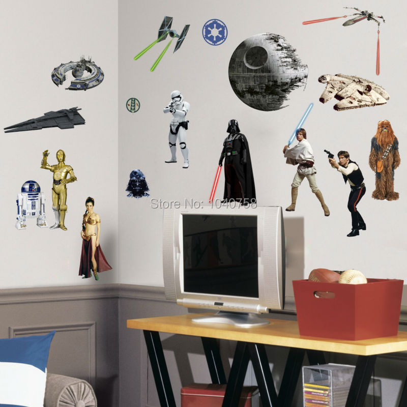 death star wars poster wall stickers movie lego wall lego batman smashed wall sticker bedroom boys girls