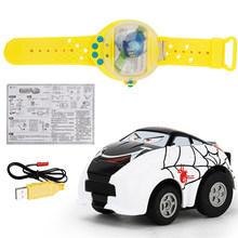Compatível com Relógio de Super-heróis e Brinquedo Do Carro de Controle Remoto Mini Relógio de Indução de Carregamento USB Dos Desenhos Animados Do Bebê Brinquedo(China)
