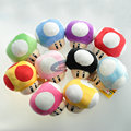 10cm Super Mario Mushroom Plush Stuffed Toys Baby Kids Children Soft Toys Gift