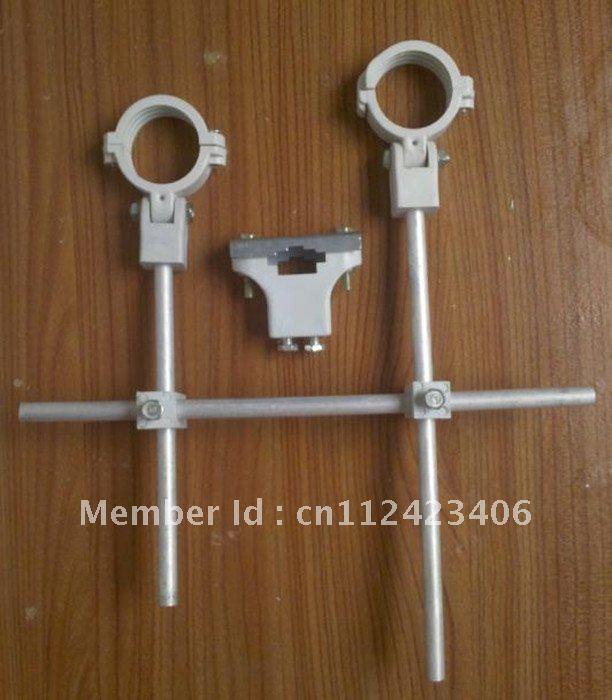 Multiple Satellite Dish LNB Bracket/Triple LNB Mount, 3 LNB Bracket Holder/Mount for Multi Satellite FTA Dish(China (Mainland))