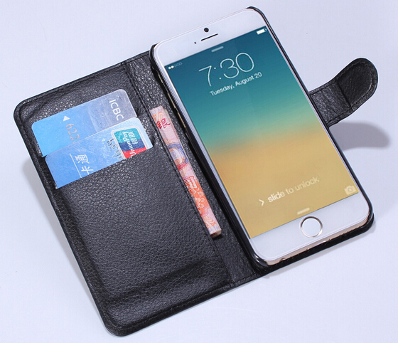5Ultra thin pu Leather Case Flip Cover apple iphone 6 4.7 inch case phone cases & covers accessories  -  rafael wan's store store