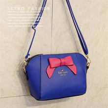 2016 New Brand Designer Bowknot Handbags Women Messenger Bag Shell Bag Shoulder Bag Purse Women Bag Hot Sale HC7414