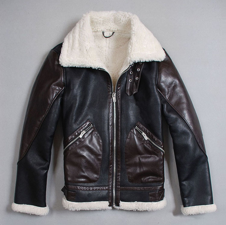 Motorcycle leather jacket winter – Modern fashion jacket photo blog