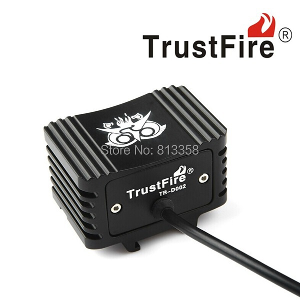 Free shipping TrustFire TR-D002 2 X CREE XM-L2 2000LM LED bicycle Light<br><br>Aliexpress