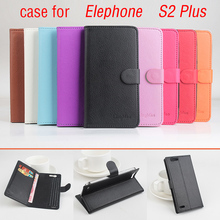 Elephone S2 Plus Case 5.5 inch Magnetic Flip Leather Case Cover for Elephone S2 Plus Wallet with Stand & Card Slots