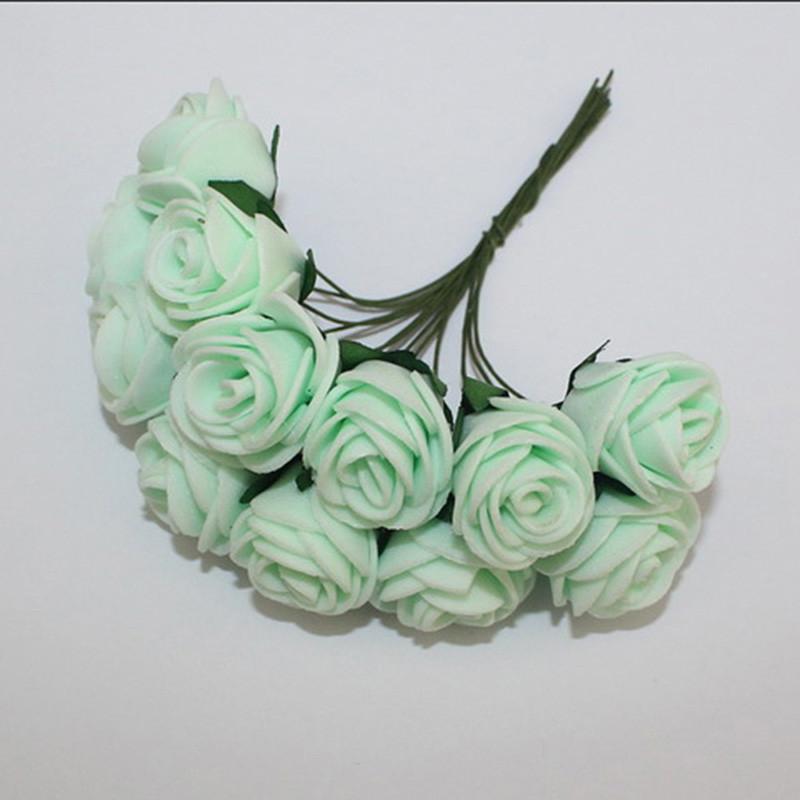 144Pcs Man Made Foam Rose Bouquet Wedding Bridal Party Anniversary Garland Decor