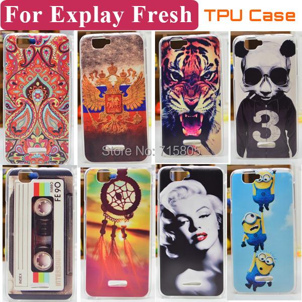 Чехол для для мобильных телефонов Explay Fresh 20 Explay /Explay флип кейс explay для explay onyx черный