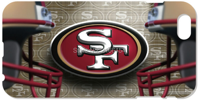San Francisco 49ers phone Cover For iphone 4S 5 5S SE 5C 6 6S Plus For iPod Touch 4 5 6 Back Skin Plastic Hard Cell Mobile Case(China (Mainland))