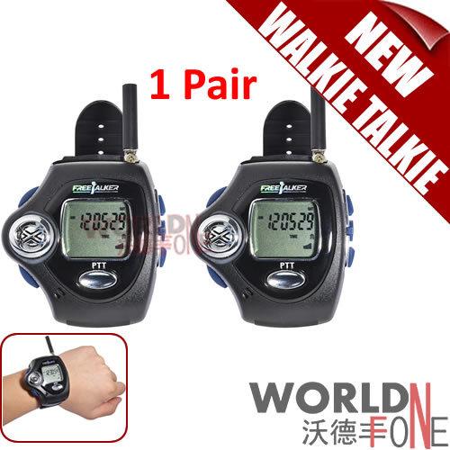 2pcs/ Pair Digital Wrist Watch Freetalker RD-820 Walkie Talkie Ham Radio Interphone 2-Way Radio With VOX Operation(China (Mainland))
