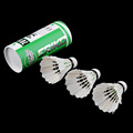 3 x Training White duck feathers Badminton Shuttlecocks Birdies Ball Game Sport Entertainment Product Badminton Balls