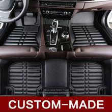 Custom fit car floor mats for Ford F-150 Edge Escape Kuga Fusion Mondeo Ecosport Explorer Focus car styling carpet liner RY30
