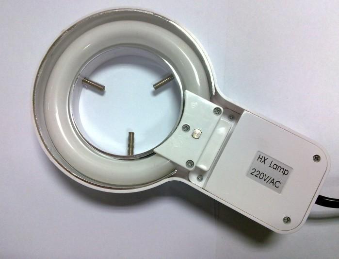 Large inner diameter of 64mm microscope neon light source ...