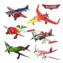 6pcs/set pixar planes dusty planes 2 ishani skipper Ripslinger airplane plane model gifts doll classic toys for children(China (Mainland))