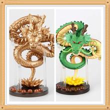 2 Versions Hot Handmade 15cm Azure Dragon Anime Cartoon Dragon Ball Z ShenRon PVC Action Figure Collectible Toy