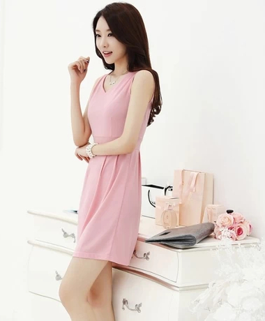 Awesome Aliexpresscom  Buy Cute Dress 2014 Spring And Summer Women Korean