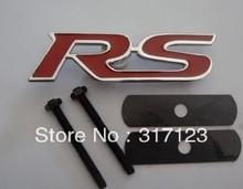 20pieces/lot Metal RS Front Grille Badge Emblem