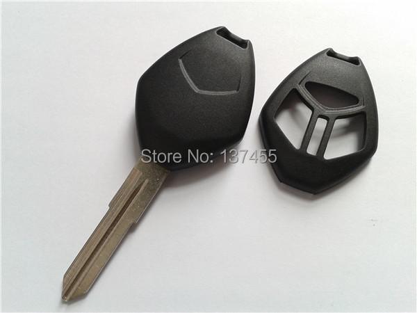 free shipping car key Mitsubishi 3 button remote key shell entry key blank mitsubishi fob selling(China (Mainland))