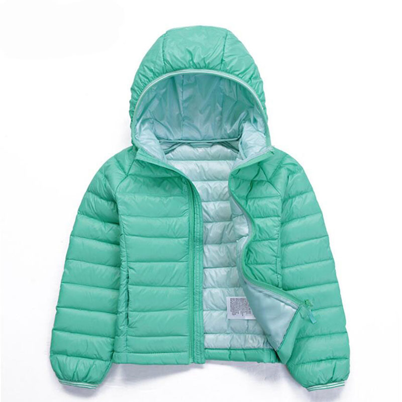 110-150cm White Duck Down Children Boys Outerwear Girls Winter-Clothing Jackets Coat Parkas Children Kids Warm Jacket Snowsuit(China (Mainland))