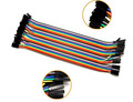 Female female Dupont line 40pcs 20cm jumper wire Dupont cable For arduino