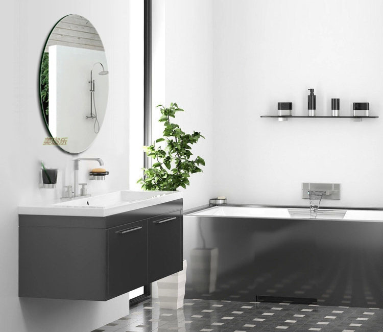 Frameless high definition bathroom mirror bathroom mirror for Mirror meaning
