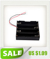 image for 4x18650 Li-ion Battery Storage Plastic Clip Holder Case Box 8 Pin Cont