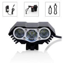 6000Lm 3xCREE XM-L U2 LED Front Head Cycling Bicycle Headlight Headlamp(China (Mainland))