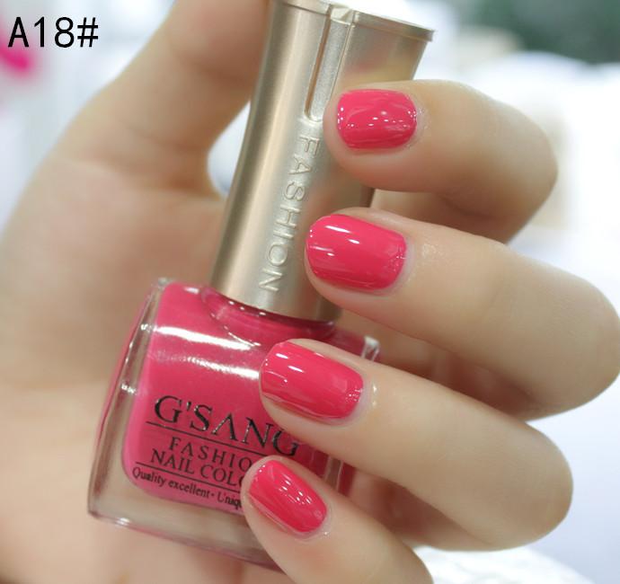 hot sale new china gsang brand nail lacquer nail beauty salon big wholesale glaze color lacquer nail art polish varnish enamel(Hong Kong)
