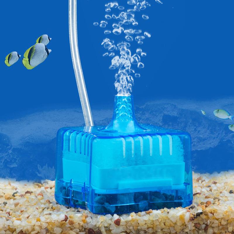 small fish tank filter water goblin pneumatic mini fish tank aquarium ...