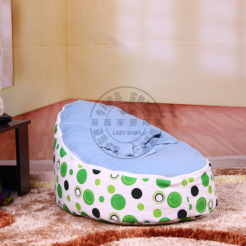 Buy Ems Recliner Chair Baby Seat Bean Bag Chairs Blue