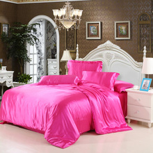 Cheap Luxury Bedding Sets Silk Quilt Duvet Cover Sets Full Queen King Size Bedding Sets Many Luxury Bedding Patterns.(China (Mainland))