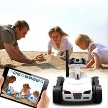 777-270 WiFi Mini i-spy RC Tank Car Toy W/ Camera Remote Control&Video By IOS phone