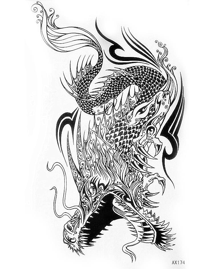 Popular cool tattoo drawings buy cheap cool tattoo for Tattoo sketches for men