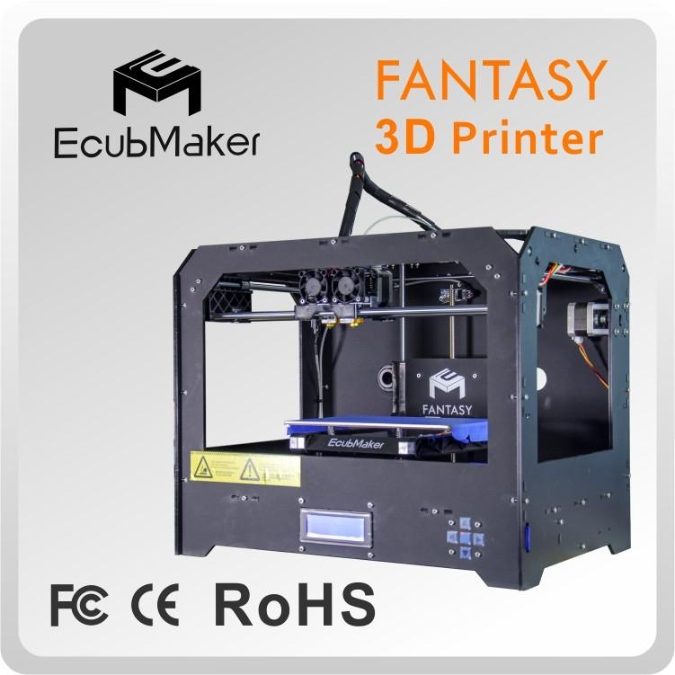 Free shipping ecubmaker high accuracy 3d wax printer for for 3d wax printer for jewelry