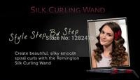 Remington набор Выпрямитель для волос 1 дюйм шелковые керамические выпрямления кудрей волосы роликовые t|studio шелка керлинг железа палочка набор