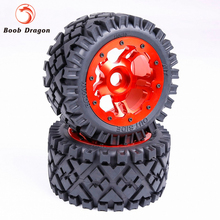 Buy Baja Rear Full Terrain tTyres set CNC Alloy Rear Wheels hub 1/5 HPI Baja 5B SS Rovan King Motor for $169.99 in AliExpress store