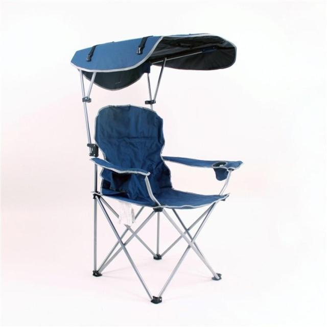New 2015 heavy duty folding camping chair fishing chair with sunshade for F