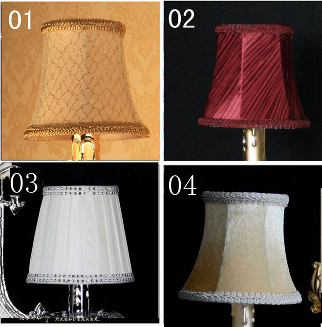 Newly lamp shades chandelier discount,modern fabric lamp shades covers Free Shipping(China (Mainland))