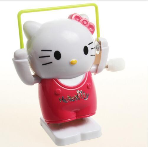 Горячий Продавать Творческие Интеллектуальные Игры Ветер Игрушки из Мультфильма Hello Kitty Cat Скакалка Игрушки Классические Детские