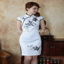 Buy Free Shipping!Hot Sale New Arrival Chinese Tradition Style Women's Mini Cheong-sam Dress S M L XL XXL ----SDR0110 for $29.19 in AliExpress store