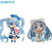 Buy SAINTGI GK GSC Nendoroid Snow Miku Snow OWL Ver Hatsune Miku Sakura Miku PVC Action Figure Collection Model Toy 10cm 4'' for $15.97 in AliExpress store