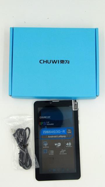 Новые! Wcdma 3 г телефонный звонок Chuwi Vi7 планшет Android 5.1 леденец планшет PC 1 ГБ / 8 ГБ IPS экран софия AtomX3 3G-R четырехъядерный процессор GPS