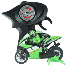 New RC Motorcar Mini High Speed Remote Control Motorcycle w/ Gyro 8012  3CH Baby toys Free shipping(China (Mainland))